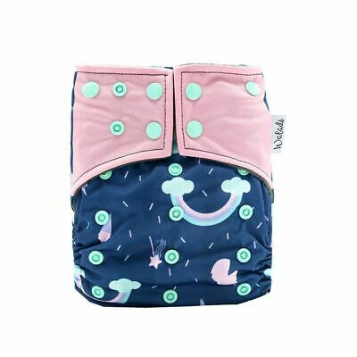 Unicorn Design Bamboo Charcoal Cloth Nappy