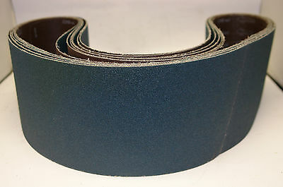 Linishing belts zirconiated 150mm x 1750mm x 60 grit pack of 7