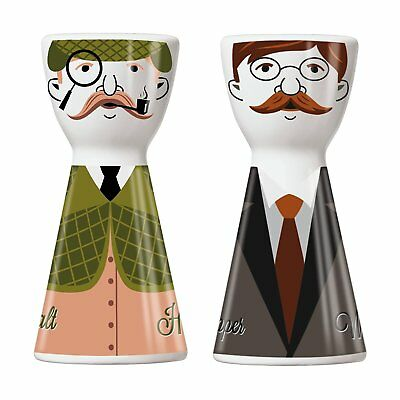 Ritzenhoff 1710065 Mr Salt e Mrs Pepper Set Sale e Pepe Porcellana Multicolore 3