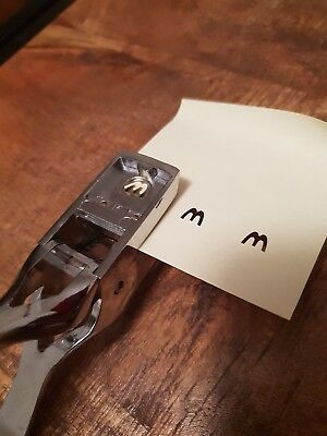 M Shaped punch