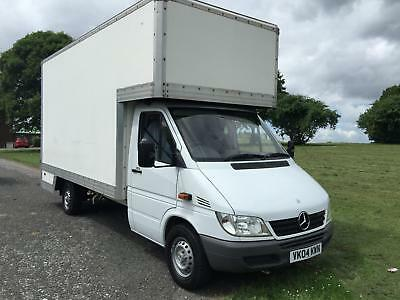 445818a72589d9 Mercedes Sprinter 311Cdi LWB 14ft Dropwell Luton Van Only 53348 Miles From  New