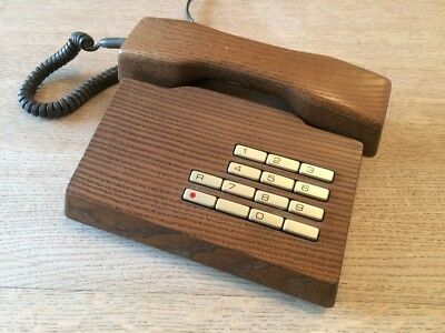 Extremely rare and much sought after solid wood 'Trub' phone