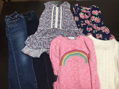 Lot Of 6 Pieces Girls Size 5 Clothes
