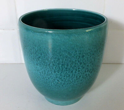 Fine Mid Century Poole Pottery reticulated reactive glaze vase