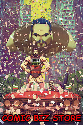 Wwe #18 (2018) 1St Printing Scarce Msrco D'alfonso 1:15 Variant Cover Boom