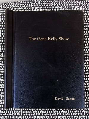 1959 SCRIPT for the GENE KELLY SHOW by SIDNEY MILLER **SIGNED** Association Copy