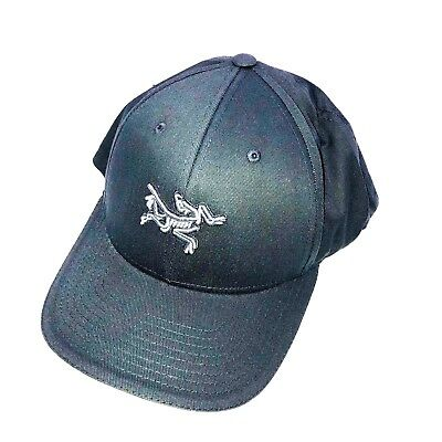 16150d77a64 EMBROIDERED BIRD CAP Black 000 by Arcteryx Unisex One Size NWT ...