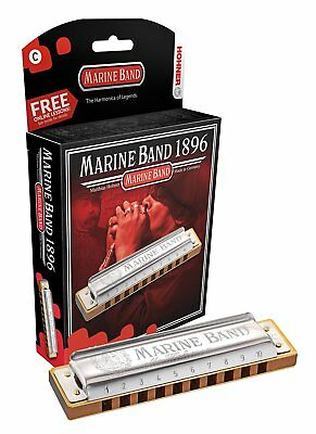 Hohner 1896BX-D Marine Band, Key Of D Major ARMONICA A BOCCA