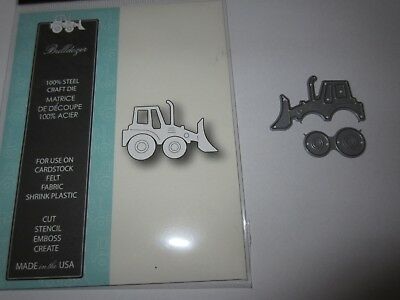 Stanze Memory Box Poppystamps Bulldozer