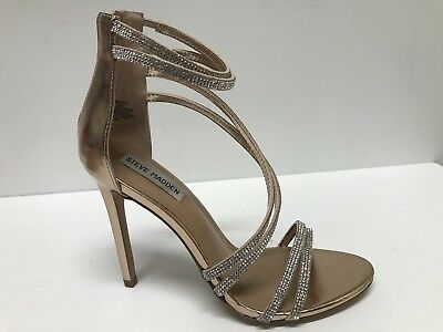 ca6fc622059 STEVE MADDEN SWEETEST Rose Gold Dress Sandals Us 8.5M  99 -  25.65 ...