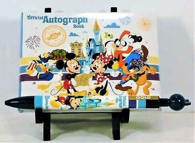Walt Disney World Resort 2018 Official Autograph Book & Matching Pen NEW SEALED