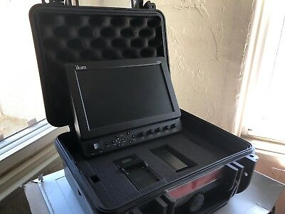 ikan VX9 Portable SDI/HDMI Field Monitor with Hard Case & Battery