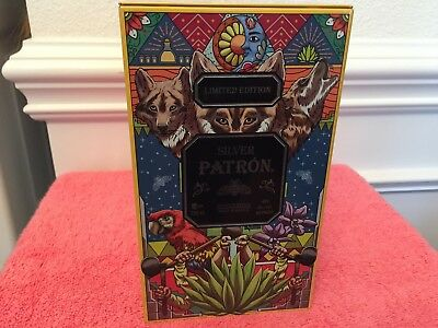 PATRON Silver Limited Edition Mexico Tin Honoring Tequila Making Process