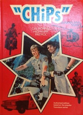 """""""Chips"""" California Highway Patrol Annual 1981"""
