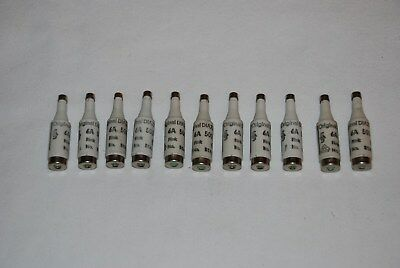 Original Diazed 6A 500V 5Sa13 Fuses Lot Of 11 New Unused Stock