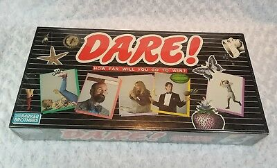 Vintage DARE! Board Game Parker Brothers 1988 SEALED