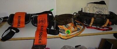 Klein Utility Pole Lineman Workers Climbing Gear Equipment Safty Belt/tools
