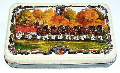 Vtg Annheuser-Busch Budweiser Clydesdale Horses Playing Cards Sealed Brand New!