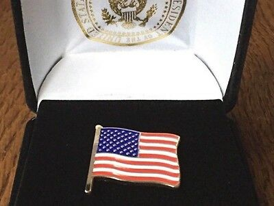 Wear The Exact Pin President Donald J. Trump Wears - American Flag - Trump Seal
