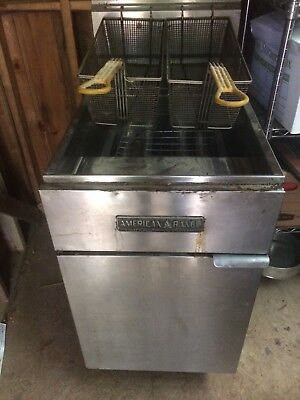 American Range Commercial gas Cooking Equipment Deep Fryer 70#