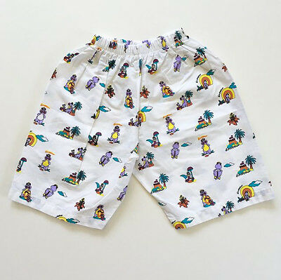 80s Kawaii Dinosaur Dragon Bahama Shorts Twins Lot (2) Unisex 2T 3T 4T FREE SHIP