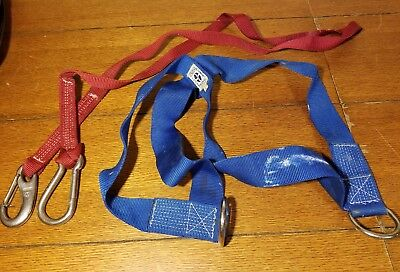 LIRAKIS NEWPORT SAFETY HARNESS with 6' Tether Adult Large Sailboat Boating Boat