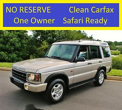2000 Land Rover Discovery No Reserve 1 owner Clean Carfax