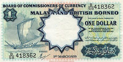 Old Malaya And British Borneo Note