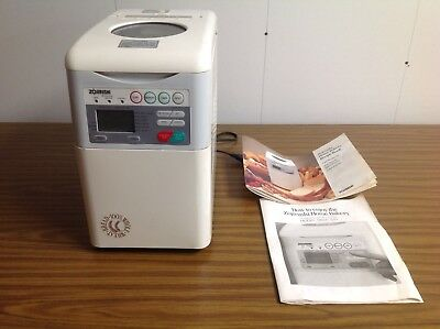Zojirushi Home Bakery Programmable 1.5 Lb. Loaf Bread Making Machine~ Bbcc-S15A
