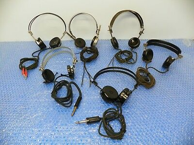 """Vintage Headphones Cannon """"The Chief, Brush, Trimm, Eugene Turney"""