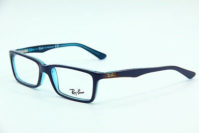 bfce6151738 RAY BAN RB 1534 3587 Blue Brown Turquoise Junior Kids Eyeglasses ...