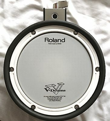Roland 10 inch PDX-8 Electronic Mesh V Drum Dual Zone pad