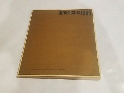 Americans 1963, The Museum of Modern Art, New York. Edited by Dorothy C. Miller