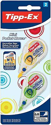 Mini Pocket Mouse-Monopattino Tipp-Ex-Correttore 5 mm X 5 M confezione da 2 pezz