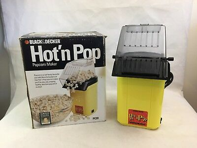 Black and Decker - Popcorn Maker - Hot 'n' Pop - Pop Corn -