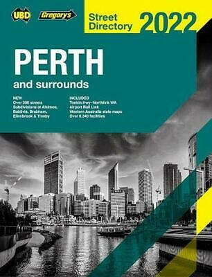 Perth Street Directory 2018 60th Ed by UBD Gregorys Discounted/ Sale Price