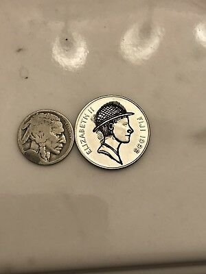 Hobo Nickel Carved Into A Fiji 20 Cent Piece a Hobo By Another Name Is A Hobo