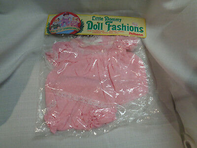 Little Mommy doll pink dress NIP  fits cabbage patch