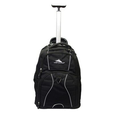 High Sierra AT Gear HS54065 Carry On Wheeled Backpack Black