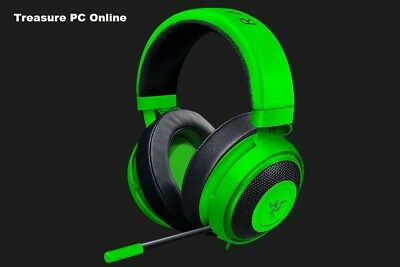 New Razer Kraken PRO V2 Green Gaming Headset Oval For Esports Pros RZ04-02050600