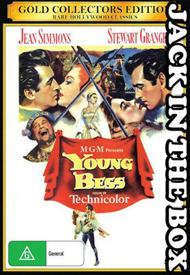 Young Bess DVD NEW, FREE POSTAGE WITHIN AUSTRALIA REGION  ALL