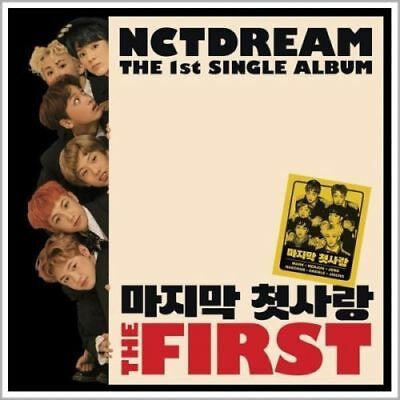 NCT DREAM [THE FIRST] 1st Single Album CD+Foto Buch+Foto Karte K-POP SEALED