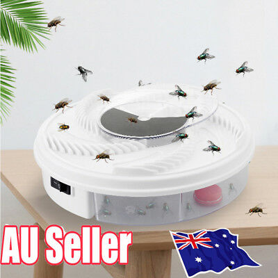 USB Electric Fly Trap Artifact with Trapping Food Automatic Flycatcher MN