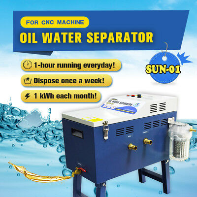SFX 1 Pc  Industrial Oil Water Separator Oil Skimmer SUN-01 CNC Machine Shop Use