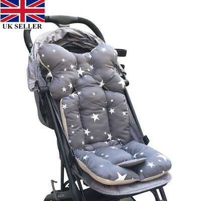 Baby Stroller Liner Head Cushion Body Support Buggy Car Seat Toilet UK