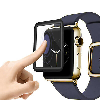 Screen Protector For Apple Watch Series 3/2/1  Tempered Glass Clarity Full Cover