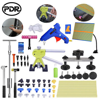 PDR Paintless Dent Repair Hail Removal Puller Bridge Lifter Line Board T bar Kit