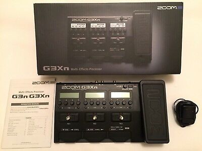 Zoom G3Xn Multi-Effects Processor - Near New Condition