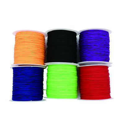 100M 0.75mm 95 LB 1 Strand Micro Paracord Parachute Cord Fishing Line Jewelry