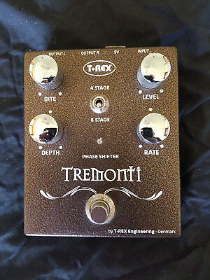 T-REX MARK TREMONTI SIGNATURE PHASE SHIFTER 4/8 Stage PHASER TREX Boutique